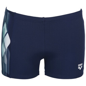 arena Mirrors Shorts Men navy/golf green